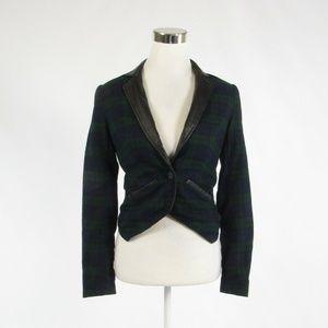 Cut25 green long sleeve blazer jacket 2